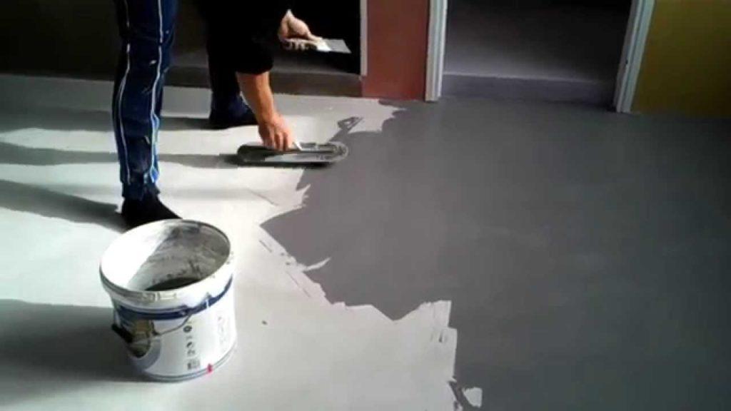Posa in opera pavimento in resina
