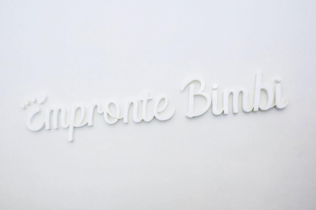 Impronte Bimbi - Negozio riqualificato con Wrapping