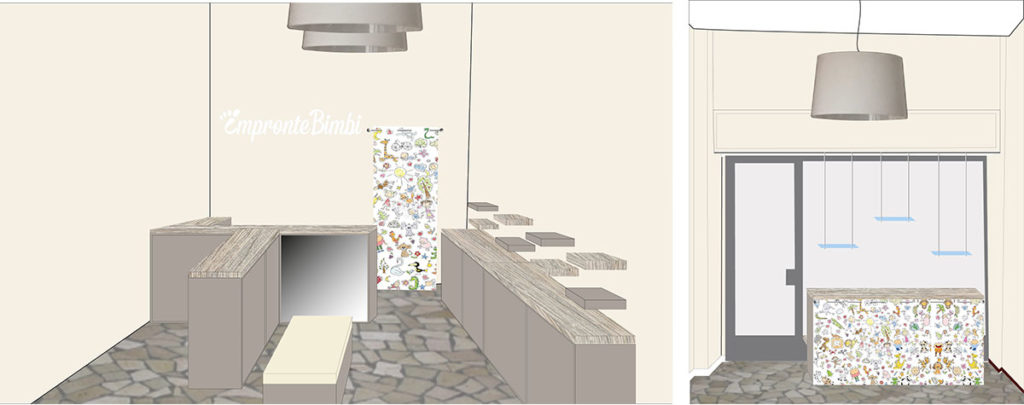 Rendering del progetto - Wrapping