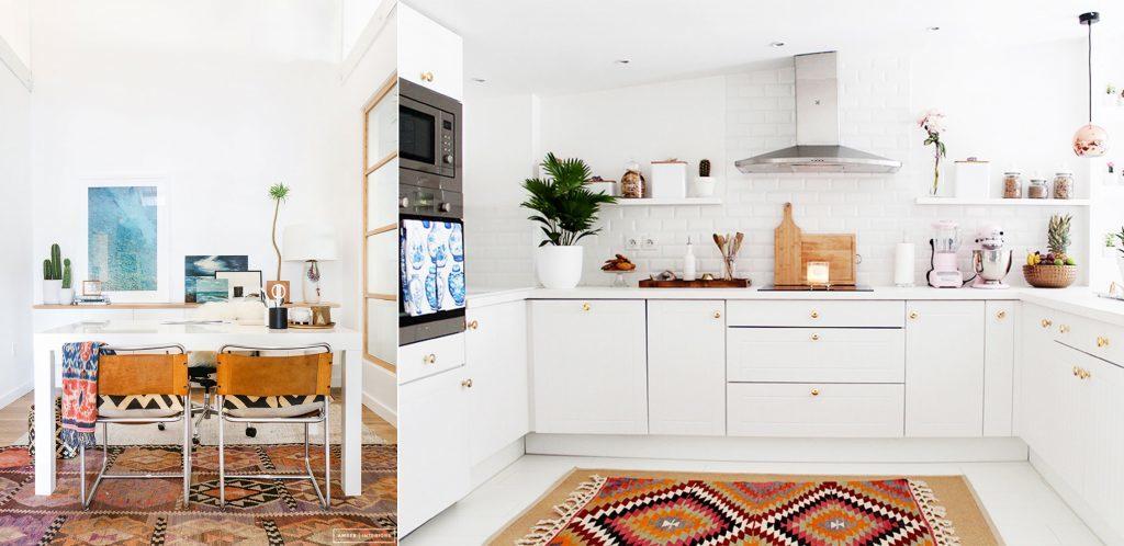 Colori per la casa: Rosso carminio e color terra per riscaldare i tuoi ambienti